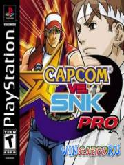 Capcom vs SNK Pro (PS1/RUS)