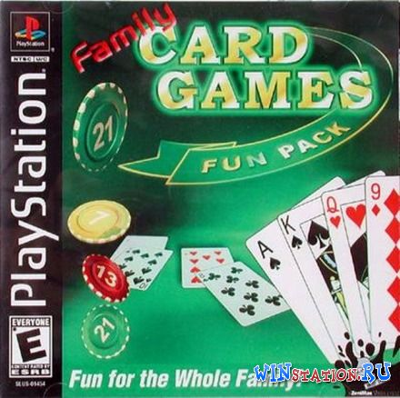 —качать игру Family Card Game Fun Pack (PSX/ENG)
