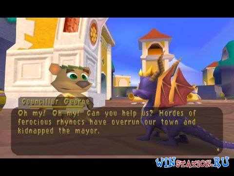 —качать игру Spyro 3: Year of the Dragon - Greatest Hits (PSX/ENG)