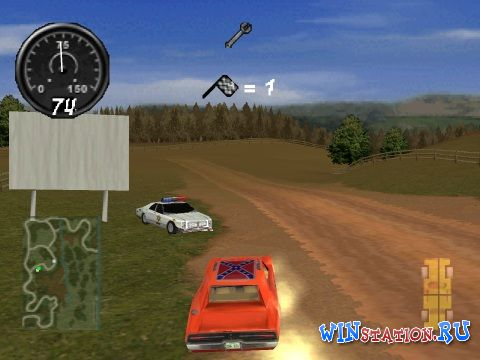 —качать игру Dukes of Hazzard 2: Daisy Dukes It Out (PSX/RUS)