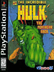 Incredible Hulk - The Pantheon Saga (PS1/ENG)