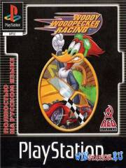 Woody Woodpecker Racing (PS1/RUS)