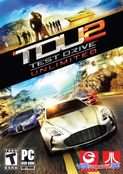 Test Drive Unlimited 2 + DLC (2011/RUS/ENG/RePack by Ultra)