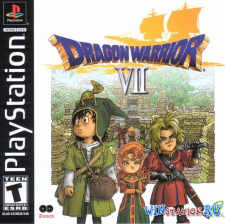 Скачать игру Dragon Warrior VII (PSX/ENG)