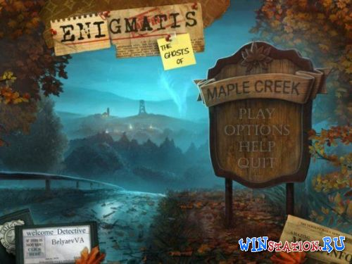 Enigmatis: The Ghosts of Maple Creek (Mini Games)