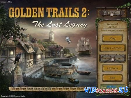 Golden Trails 2: The Lost Legacy - Collector's Edition (Mini Games)