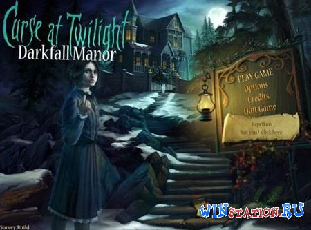 Curse at Twilight: Darkfall Manor (Mini Games)