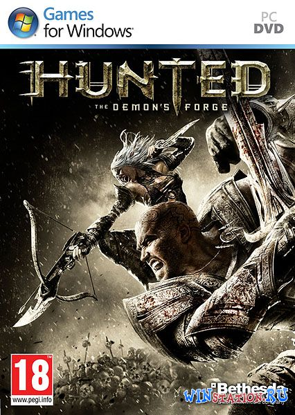 Скачать Hunted: The Demon's Forge (2011/ENG/Repack R.G. Catalyst) бесплатно
