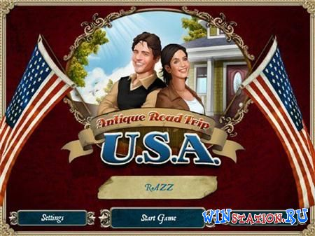 Скачать игру Antique Road Trip U.S.A. (Mini Games)