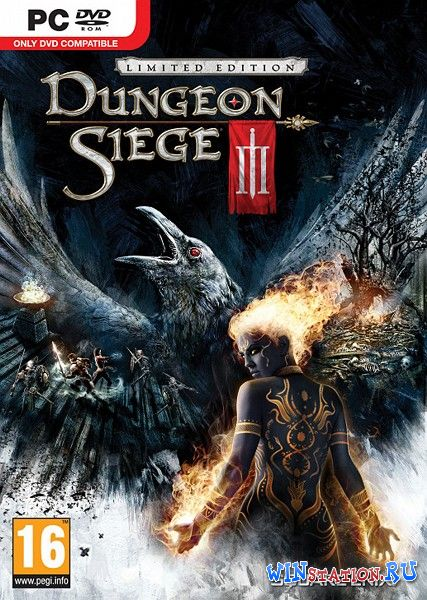 Скачать Dungeon Siege 3 Limited Edition (2011/RUS/ENG/RePack R.G. Catalyst) бесплатно