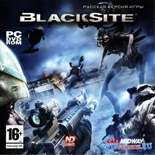 Скачать игру BlackSite: Area 51 (2007/RUS/RePack by R.G.Catalyst)