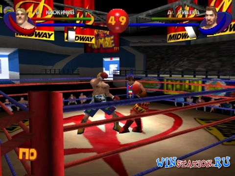 —качать игру Ready 2 Rumble Boxing: Round 2 (PSX/RUS)