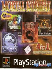 Mortal Kombat 4 in 1 дл¤ PS1