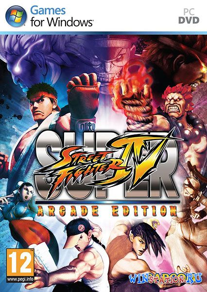 ������� Super Street Fighter IV Arcade Edition (2011/RUS/ENG/Repack by a1chem1st) ���������