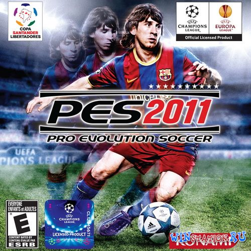 Скачать игру Pro Evolution Soccer 2011 v.3.5 *Russian Super Patch v.1.1* (2011/RUS/RePack by R.G.Packers)
