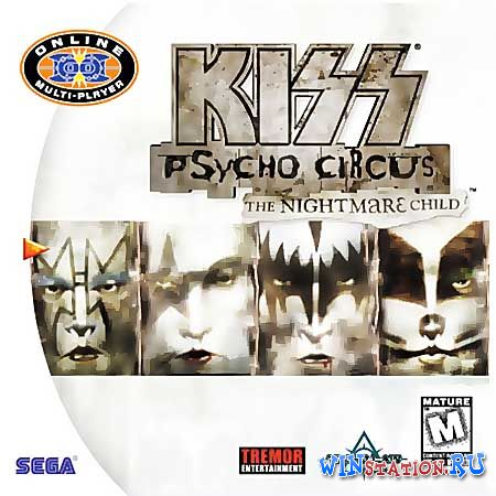 ������� ���� KISS Psycho Circus: The Nightmare Child