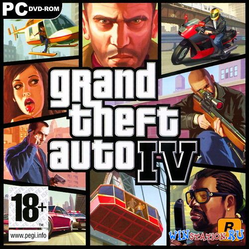 Скачать игру Grand Theft Auto IV (2008/RUS/ENG/RePack by R.G.Packers)