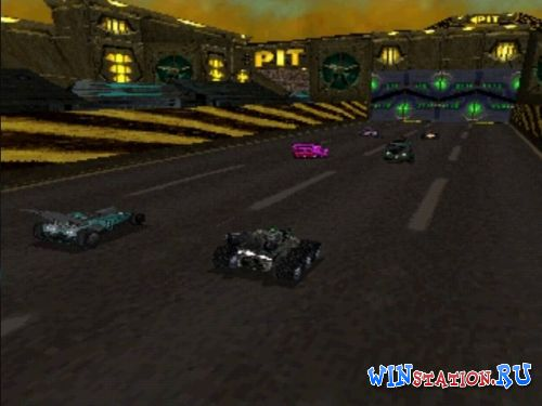 Red Asphalt: Rock 'n Roll Racing 2