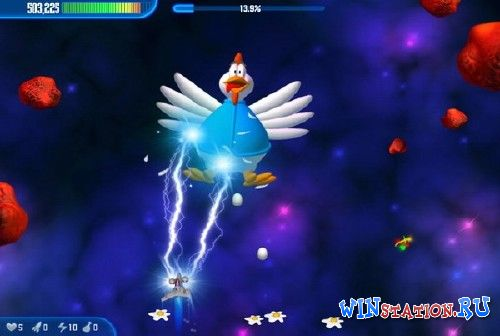 Скачать игру Chicken Invaders 4: Ultimate Omelette