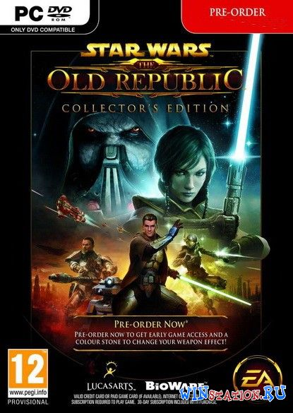 Скачать Star Wars: The Old Republic бесплатно