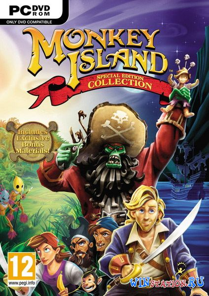 ������� ���� Monkey Island Special Edition Collection
