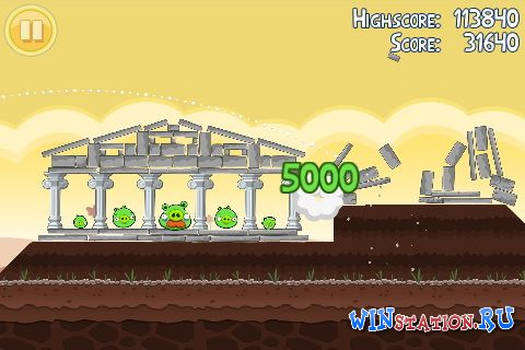 ������� ���� Angry Birds