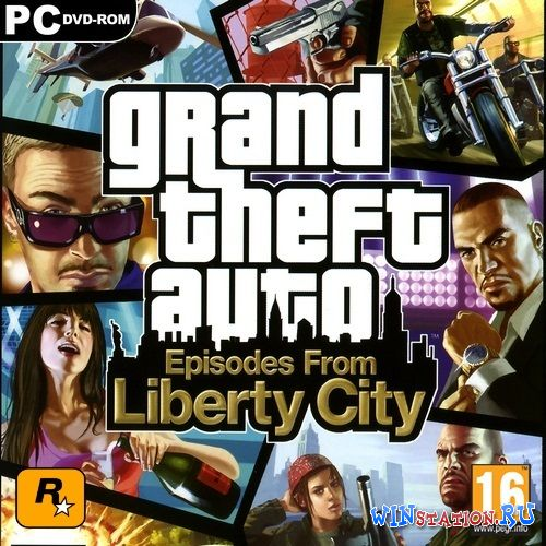 ������� ���� Grand Theft Auto IV: Episodes From Liberty City (2010/RUS/ENG/RePack by R.G.Packers)