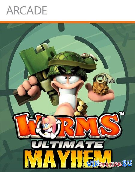 Скачать Worms: Ultimate Mayhem бесплатно