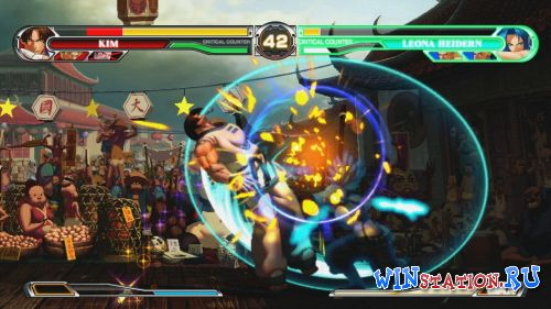 Скриншот King of Fighters XII