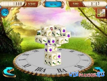 Скачать игру Mahjongg Dimensions Deluxe Tiles in Time