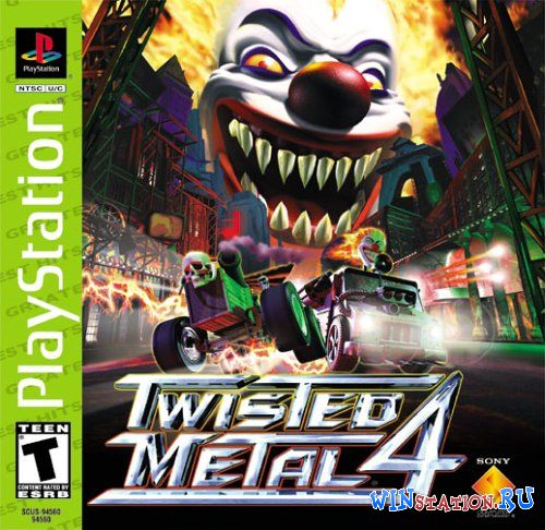 —качать Twisted Metal 4 бесплатно