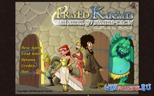 Скачать игру Frayed Knights: The Skull of S'makh-Daon