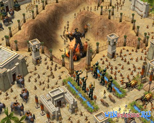 "—качать игру Age of Mythology: The Titans / Ёпоха мифологий: ""итаны"