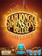 Mahjongg Dimensions Deluxe Tiles in Time