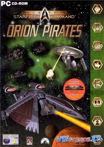 Скачать игру Star Trek: Starfleet Command Orion Pirates