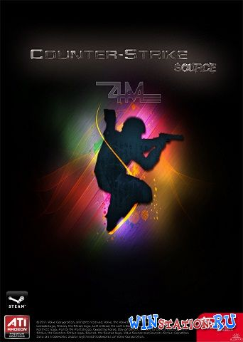 Скачать игру Counter-Strike: Source 4M Final Edition [v68] Portable