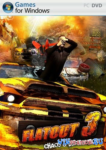 Скачать игру Flatout 3: Chaos  Destruction (2011/ENG)