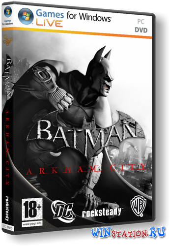 Скачать игру Batman: Arkham City v.1.01 + 12 DLC