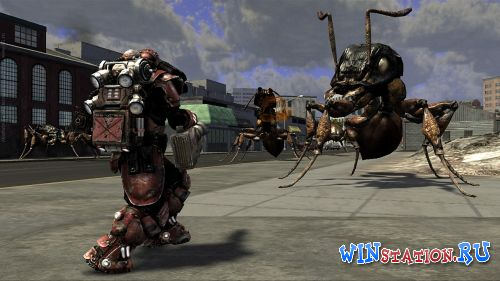 Скачать игру  Earth Defense Force: Insect Armageddon