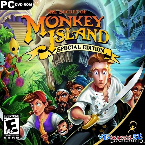 Скачать игру The Secret of Monkey Island: Special Edition