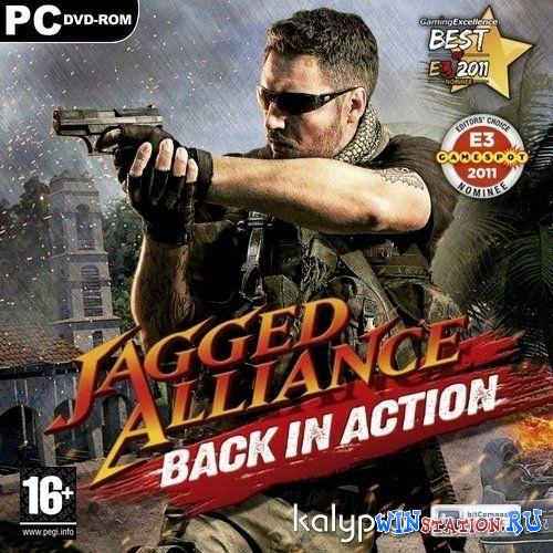 Скачать игру Jagged Alliance: Back in Action