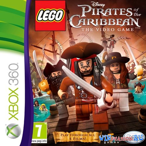 —качать игру LEGO Pirates of the Caribbean: The Video Game