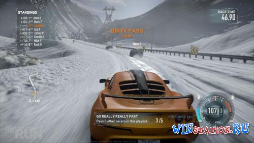 Скачать игру Need for Speed: The Run + Italian Edition Pack