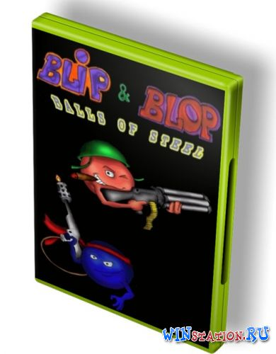 Скачать игру Blip & Blop: Balls of Steel