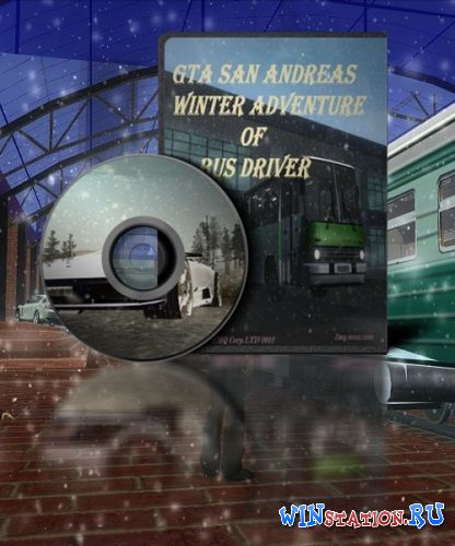 Скачать игру GTA / Grand Theft Auto: San Andreas Winter Adventure Of Bus Driver