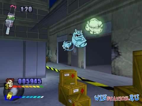 —качать игру Extreme Ghostbusters: The Ultimate Invasion