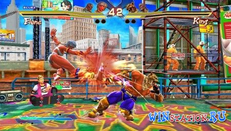 Скачать игру Street Fighter X Tekken