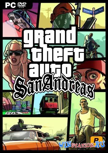 Скачать GTA San Andreas + MultiPlayer бесплатно