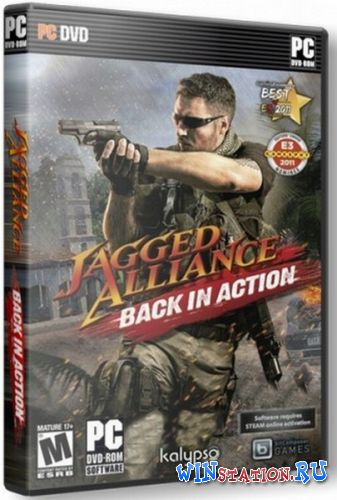 Скачать игру Jagged Alliance: Back in Action v1.13a + 5 DLC