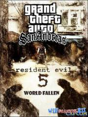 GTA San Andreas: Resident Evil 5 World Fallen